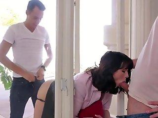 First anal sex big cock Ryder Skye german natural milf
